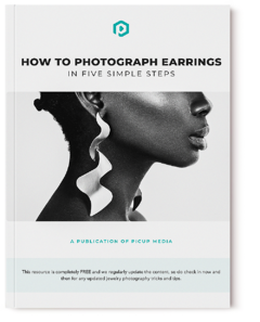 How to Photograph Earrings